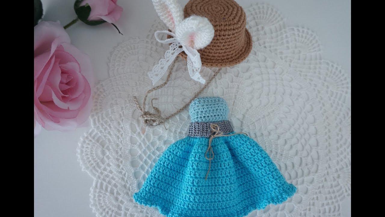 Amigurumi blue dress doll - Free Patterns | Handmade dolls ... | 720x1280