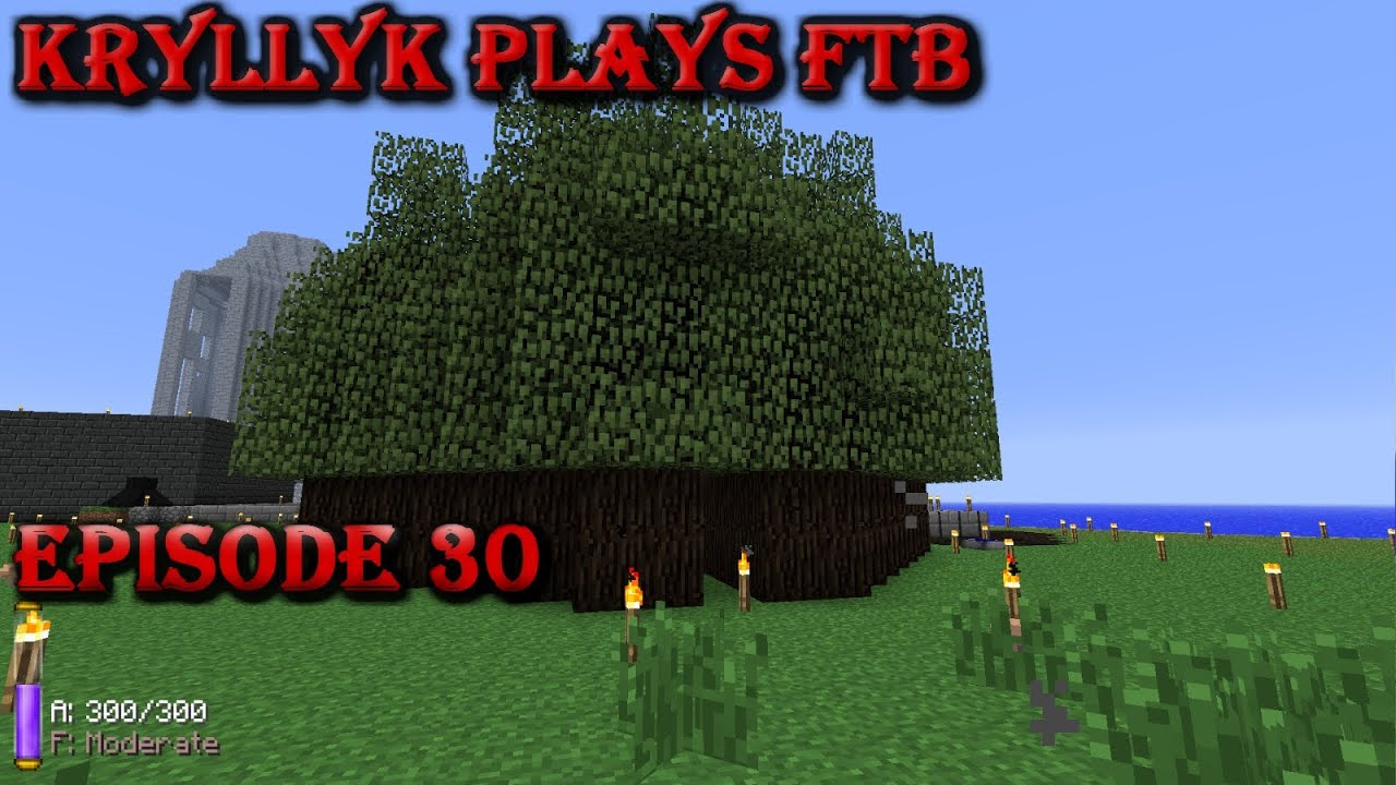 Kryllyk Plays Ftb Ep 30 Multi Farm Rubber Plantation Youtube