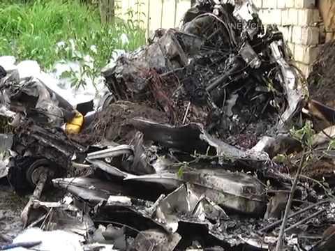 Телеканал Новий Чернігів: Авіакатастрофа в Півцях | Телеканал Новий Чернігів
