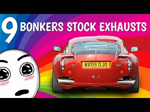The 9 Most Bonkers Stock Exhausts Ever Fitted