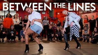 Between The Lines - Robyn | Brian Friedman & Yanis Marshall #Heels Choreography | Millennium LA