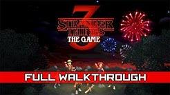 STRANGER THINGS 3: The Game – Full Gameplay Walkthrough / No Commentary 【Full Game】