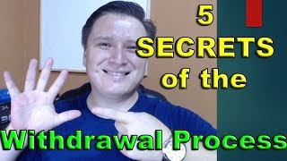 5 SECRETS of the withdrawal process! Binary Options Trading
