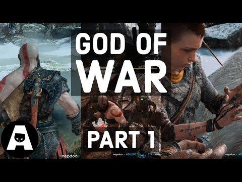 LIRIK plays GOD OF WAR 2018 on Hardest Difficulty - Part 1