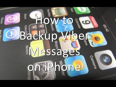 how to backup messages on iphone how to backup viber messages on iphone 18584