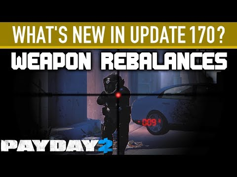 What's new in Update 170? [PAYDAY 2]