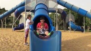 Vlog Катаемся на горках в парке
