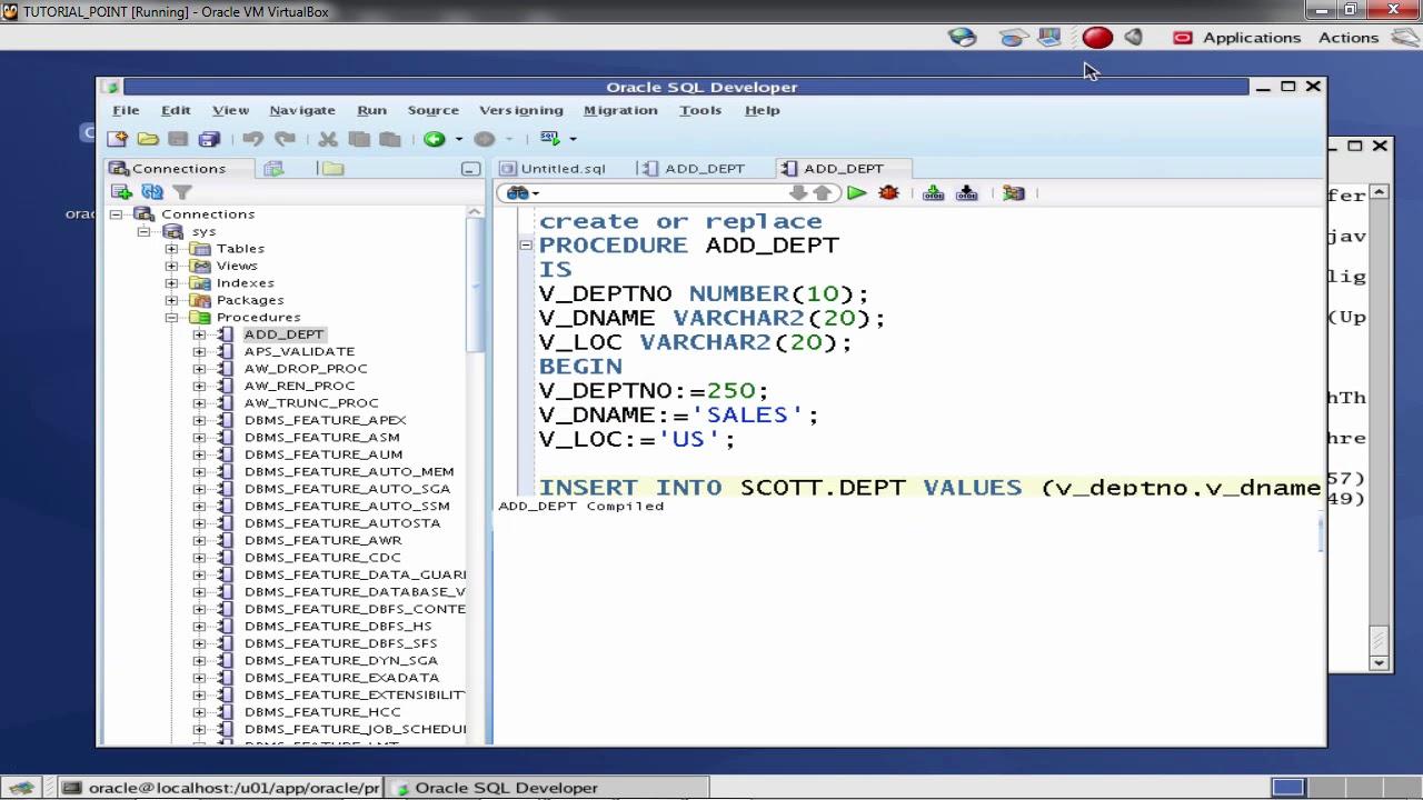 Python mysql database access tutorials point.