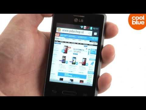 LG Optimus L3 II videoreview en unboxing (NL/BE)