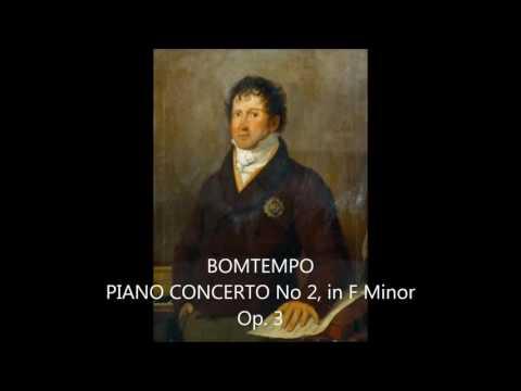 DOMINGOS BOMTEMPO - PIANO CONCERTO No 2, in F Minor, Op.3