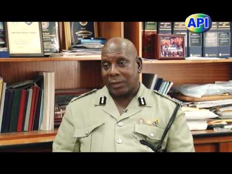 Police Commissioner Michael Charles Interview 26th July 2016.