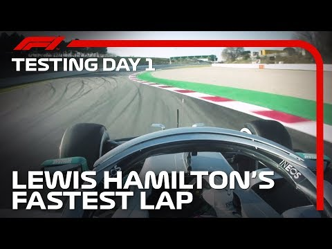 Lewis Hamilton Sets The Pace On Day 1 Of 2020 Pre-Season Testing