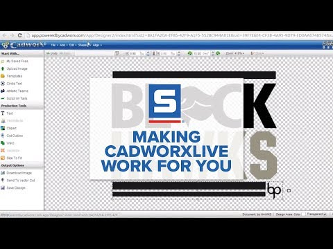 Making CadworXLIVE Work for You