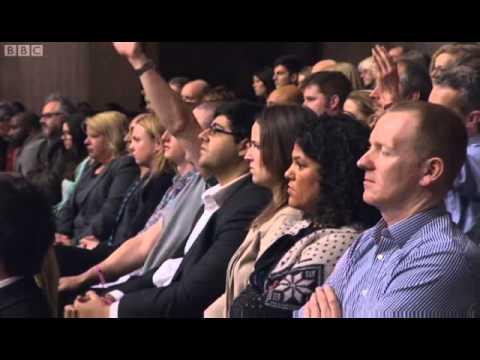 Diane Abbott on BBCQT - Londons White Flight 21/02/2013