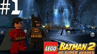Lego Batman 2 - Walkthrough Part 1 Theatrical Pursuits
