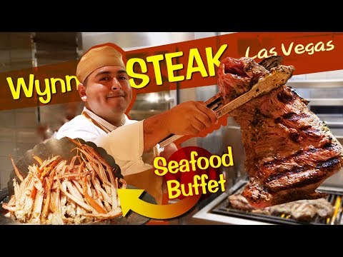 Wynn STEAK & SEAFOOD BUFFET Review In Las Vegas