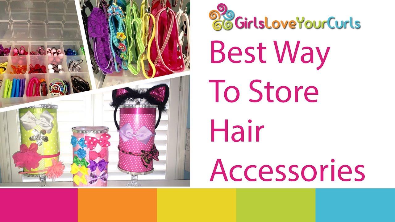 Ways To Organize Hair Accessories