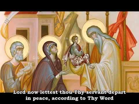 Lord, Now Let Thy Servant Depart
