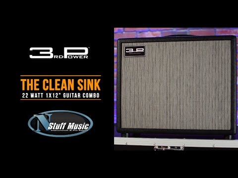 "The Clean Sink 1x12"" Combo Amp from 3rd Power - In-Depth Demo!!"
