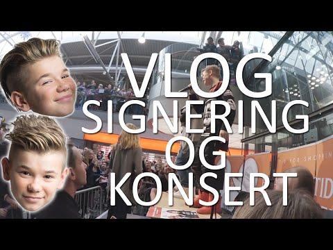 Marcus & Martinus - VLOG - Signering i Porsgrunn og konsert i Lunde