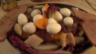 Блюда из утки. Часть 3. Лесной салат с маринованными овощами