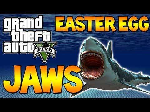 "gta-5---free-roam-""jaws""-easter-egg-""gta-v-shark-attack""-gta-5-jaws-(grand-theft-auto-5)-|-chaos"