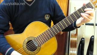 КИНО (В. Цой) - Пачка сигарет, соло, разбор на гитаре (2 ч.)