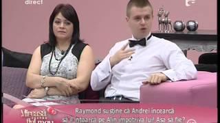 Andrei susține că Raymond îl tratează cu superioritate pe Alin