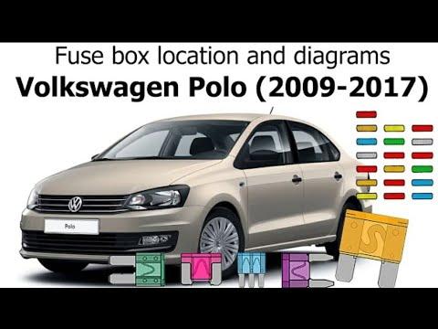 Fuse Box Location And Diagrams : Volkswagen Polo or Vento(2009-2017) -  YouTubeYouTube