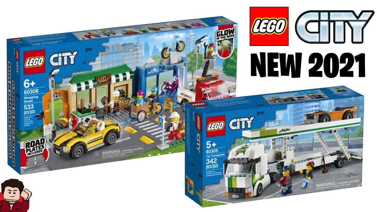 Lego City New 2021 Sets Revealed Youtube