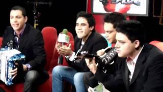 GRUPO REGIDO - en Los Angeles - Entrevista en Gimme Five - Regional Mex TV -Direct TV
