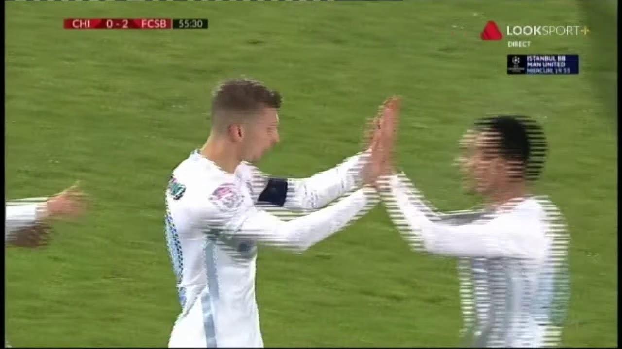 Florin Tanase, gol, Chindia - FCSB 0-2 min 55