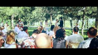 Свадьба в Запорожье, Jast a kiss by  Креатив Арт