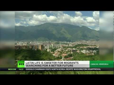 Unexpected Choice? Venezuela attracts flocks of immigrants seeking better life