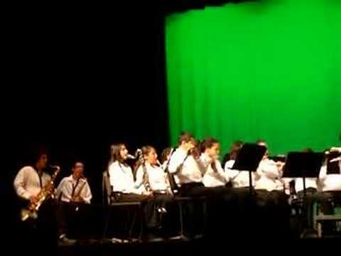 Rancho Cucamonga Middle School Playing At Alta Loma Concert!
