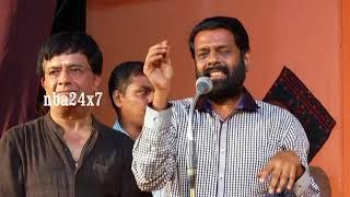 """YG Mahendran''s """"Soppana Vazhvil 100th Successful Stage Show   Vasanth     nba 24x7"""