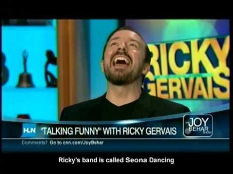Ricky Gervais 1980's Pop Star