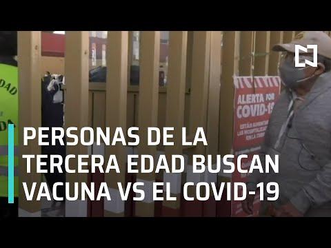 Vacunación contra el Covid-19 en México | Vacuna contra el Covid-19 en adultos mayores - En Punto