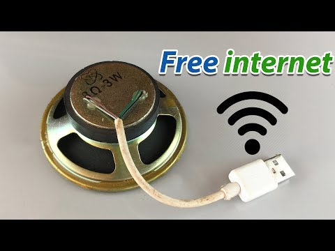 Free internet 100% Working  - New free WiFi at home 2019
