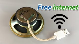 Free internet 100 Working - New free WiFi at home 2019
