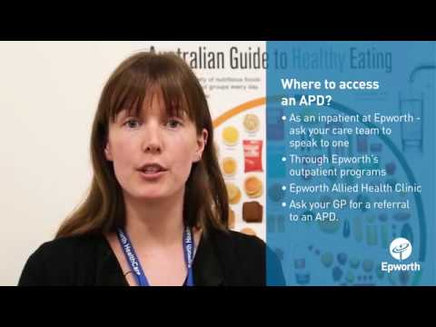 Nutrition Advice from an Accredited Practicing Dietitian