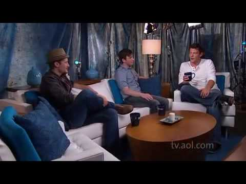 Interview with Matthew Morrison, Chris Colfer and Cory Monteith (Outside the Box)