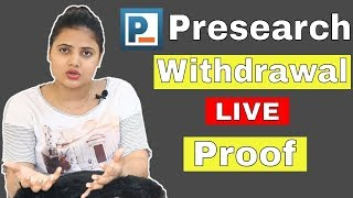 How to Withdrawal Presearch Coin ? Live Proof