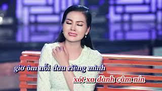 Karaoke | Phụ Bạc - Hoa Hậu Kim Thoa | Tone Nữ