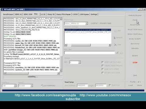 Hard Reset And Update Any Sony Z Z1 Z2 Z3 Z4 With Setool Box