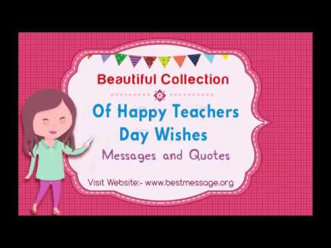 Happy teachers day 2016 wishes text messages and quotes youtube m4hsunfo