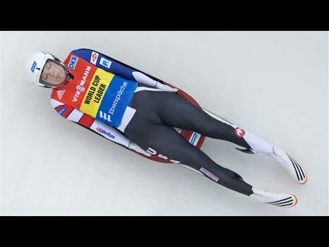 Curve 9 of The Olympic Luge Track Causes Crash For American Emily Sweeney