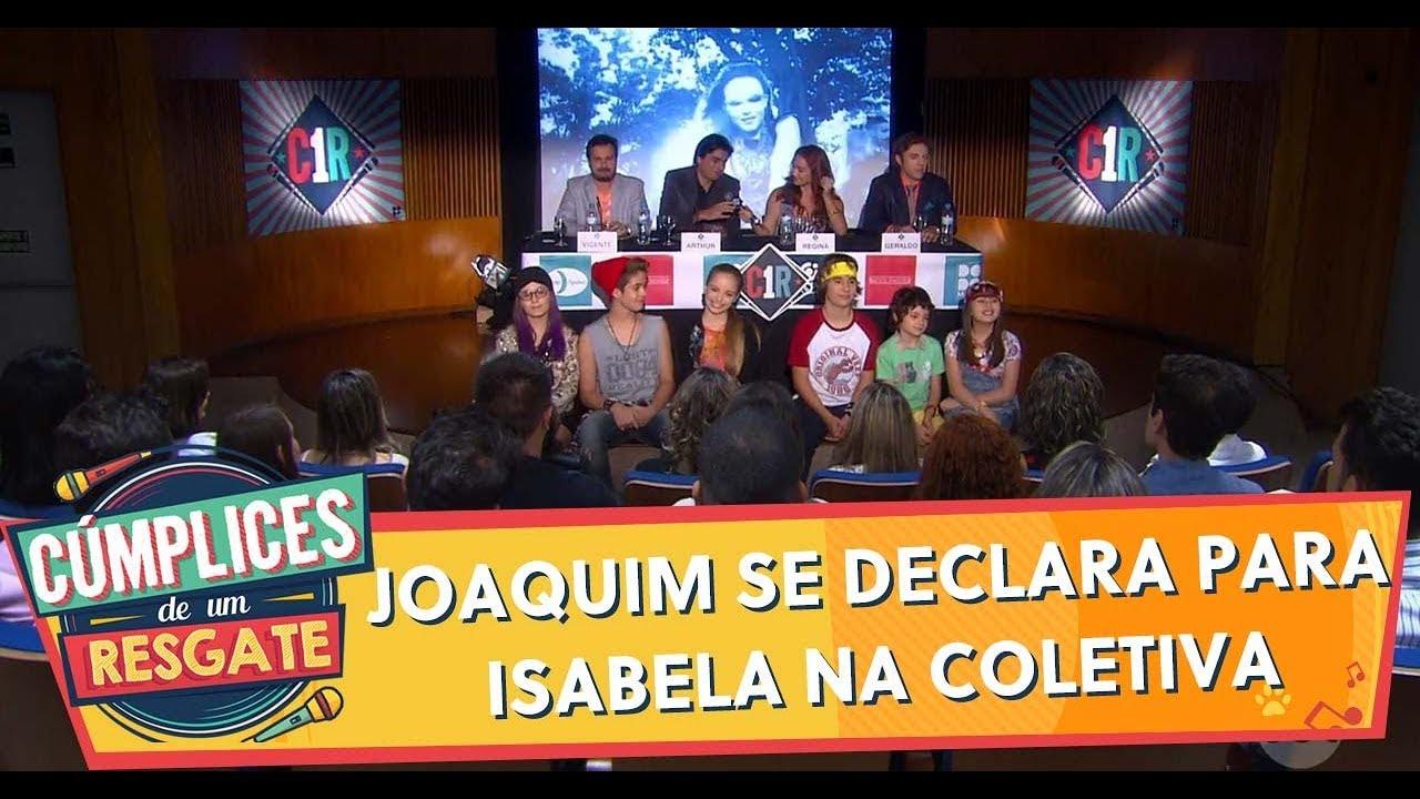 Joaquim se declara para Isabela na coletiva de imprensa | Cúmplices de Um Resgate (17/02/20)
