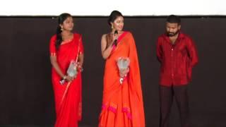 Dinesh and Rithvika at Oru Naal Koothu Audio Launch
