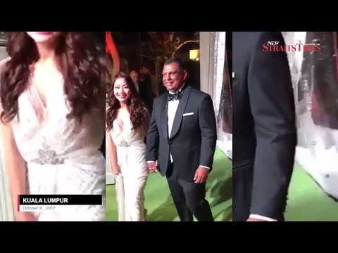 Video of Tony Fernandes' lavish wedding party leaked online